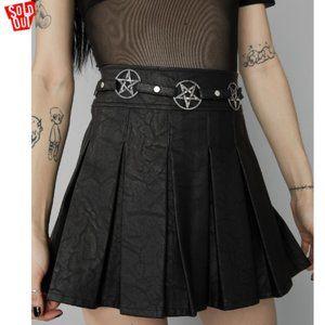 Widow Magical Manifestation pleated skirt